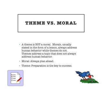 Teaching Theme (Topic vs. Theme)
