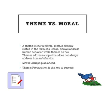 Teaching Theme (Topic vs. Theme)