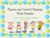 """Teaching Theme and Central Message Made Simple!"""