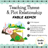 Teaching Theme and Plot Relationship with a Fable REMIX