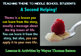 "Teaching Theme to Middle School Students Part Two: ""A Seco"