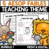 Teaching Theme with Aesop's Fables Bundle Volume One