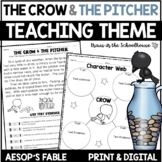 Teaching Theme with Fables - The Crow and the Pitcher