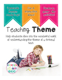 Teaching Theme with Movies Tic-Tac-Toe Game (Common Core Aligned)
