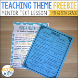 Teaching Theme with a Mentor Text: Cloudette