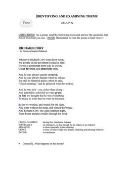 Teaching Theme/Teaching Theme with Poetry