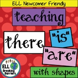 "Teaching ""There is"" and ""There are"" with Shapes"