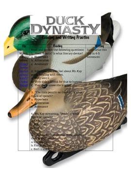 Teaching Through TV: Duck Dynasty