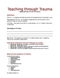 Teaching Through Trauma Notesheet