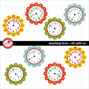 Teaching Time 05 ADD-ON Clipart by Poppydreamz