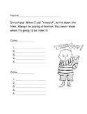 Teaching Time Activity