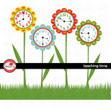 Teaching Time Clipart by Poppydreamz