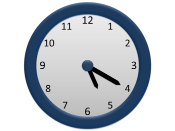 Teaching Time Clock 6-pack for PowerPoint