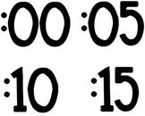 Teaching Time {Clock} Materials