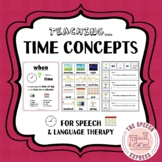 Teaching Time Concepts & When Questions for Speech and Lan