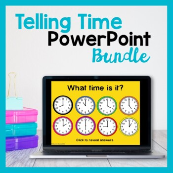 Teaching Time PowerPoints (Bundle)