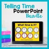 Teaching Time PowerPoints (Bundle)