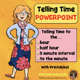 Telling Time PowerPoint and Printables