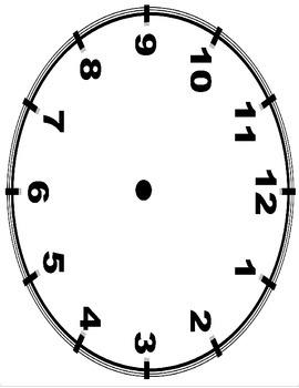Teaching Time and Clocks - No Prep