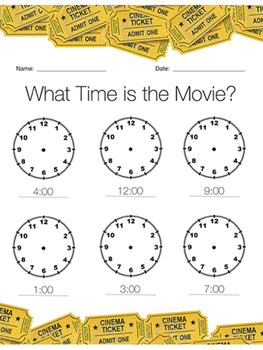 Teaching Time with Movies!