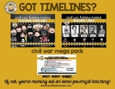 Teaching Timelines: Civil War MEGA Pack