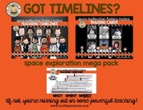 Teaching Timelines: Space Exploration MEGA Pack