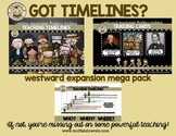 Teaching Timelines: Westward Expansion MEGA Pack