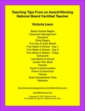 Teaching Tips From an Award-Winning National Board Certified Teacher