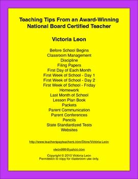 Teaching Tips From an Award-Winning National Board Certifi