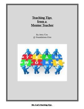 Classroom Management - Teaching Tips for New Teachers from a Mentor Teacher!