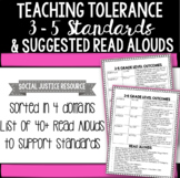 Teaching Tolerance 3-5 Standards and Suggested Read Alouds