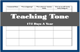 Teaching Tone Using Commercials