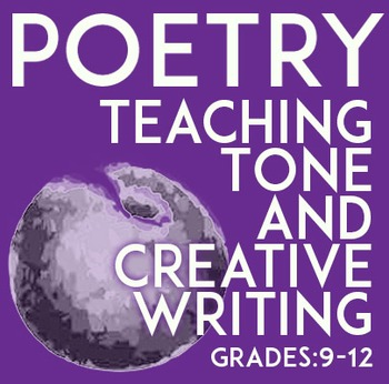 Fun Poetry Exercise To Teach Creative Writing and Tone: William Carlos William