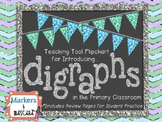 Flipchart Teaching Tool - Digraphs (Review Pages Included)