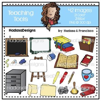 Teaching Tools Clip Art Set
