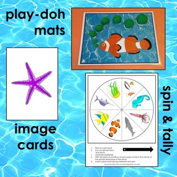 Ocean Animal Math and Literacy Teaching Tools