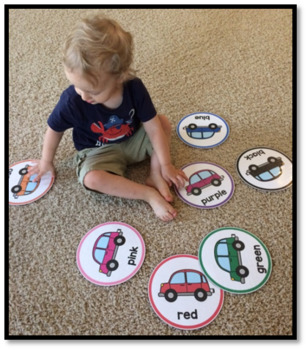Teaching Tots with Dots {Colors}