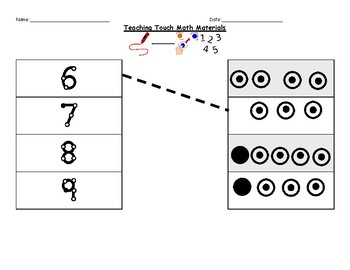 Teaching Touch Math - Learning 6-9