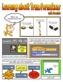 Teaching Transformations with Scratch