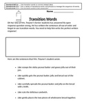 Teaching Transition Words