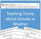 Teaching Trump about Climate vs Weather