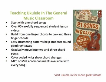 Teaching Ukulele in the General Music Classroom