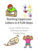 Teaching Uppercase Letters in 4 FUN Steps