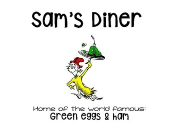 Teaching Variables with Green Eggs and Ham
