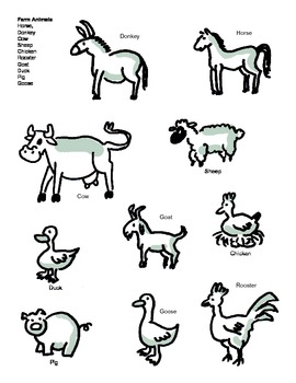 Teaching Vocabulary and Concepts using Farm Animals