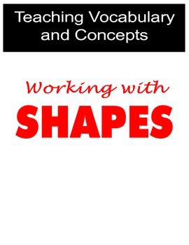 Teaching Vocabulary and Concepts using Shapes