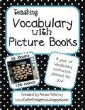 Teaching Vocabulary with Picture Books - A Year's Worth of Lessons