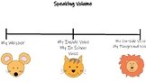 Teaching Vocal Volume with Animals Visual Aid