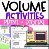 Volume of Rectangular Prisms with Digital Volume Activitie
