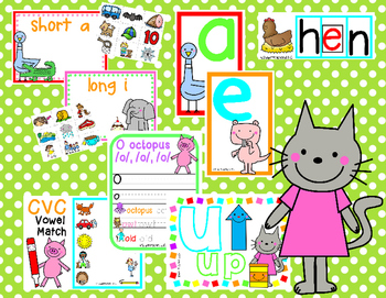 Teaching Vowels to Little Ones